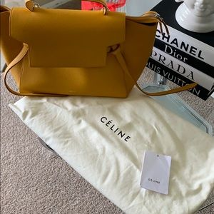 4087a073aeb77 Celine NANO BELT BAG IN GRAINED CALFSKIN